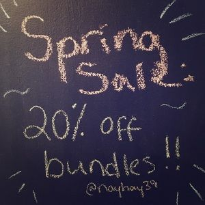 Other - 20% off Bundles of 2+